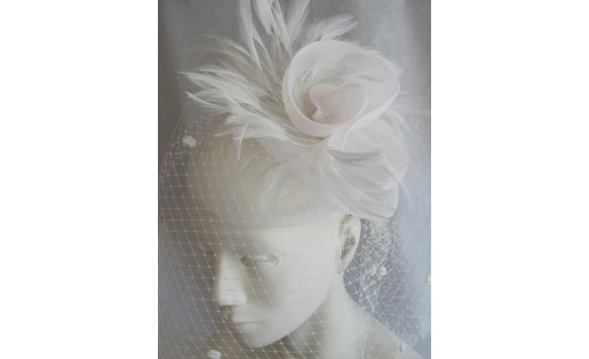 Ariane Delabays - Modiste à Lausanne - Confection de chapeaux - Collection Mariage - 2