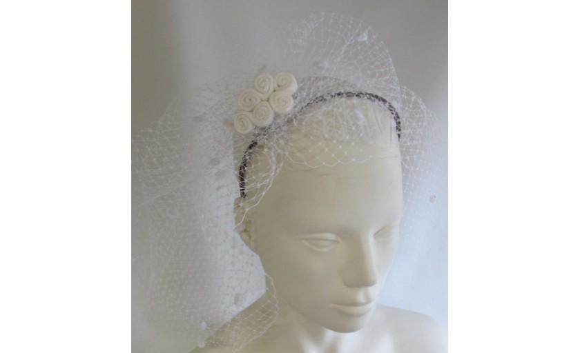 Ariane Delabays - Modiste à Lausanne - Confection de chapeaux - Collection Mariage - 3