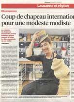 Ariane Delabays, 24 Heures, 31 mai 2011