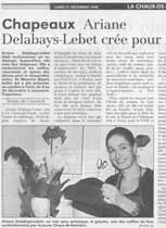 Ariane Delabays, article presse 4