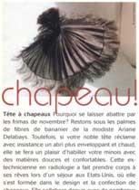 Ariane Delabays, article de presse 21 décembre 1998